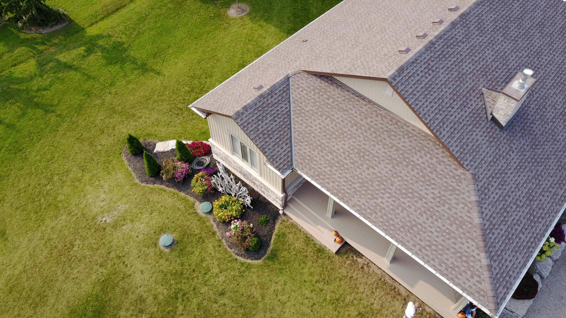 drone photography for roofers