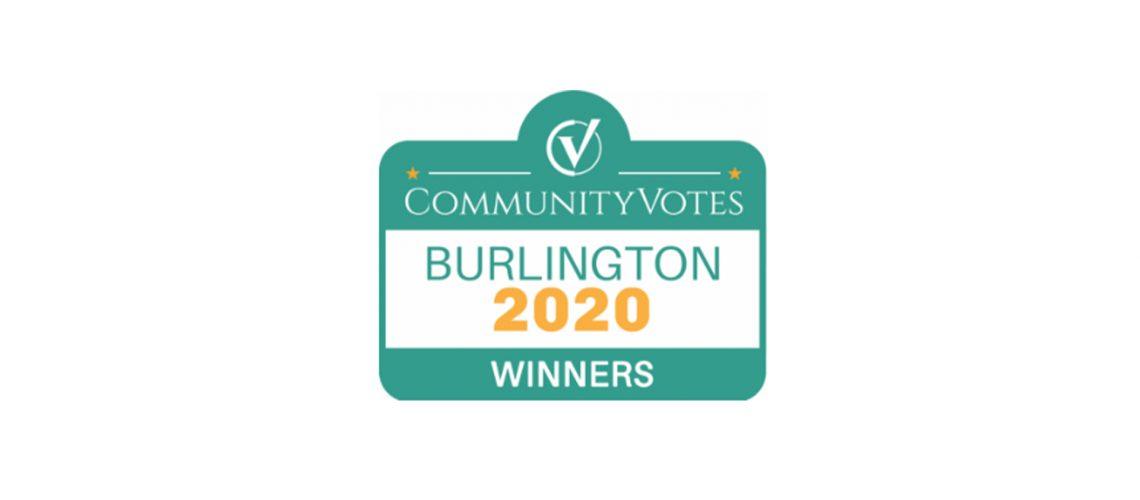 CommunityVotes Burlington Platinum 2020 Winners OTBx Air
